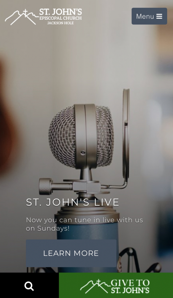 St. John's Live Instructions